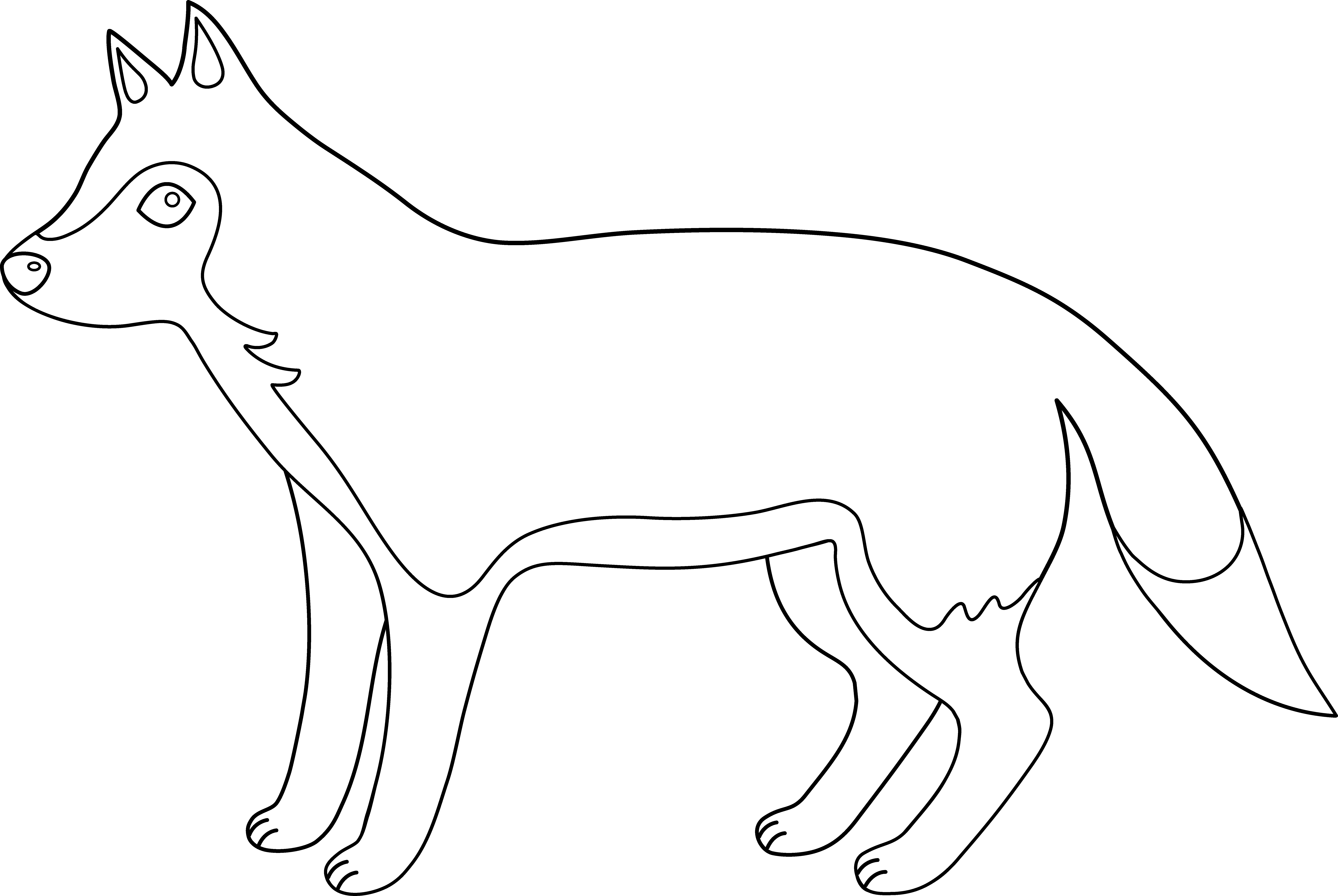 Free Outline Pictures Of Animals Download Free Clip Art