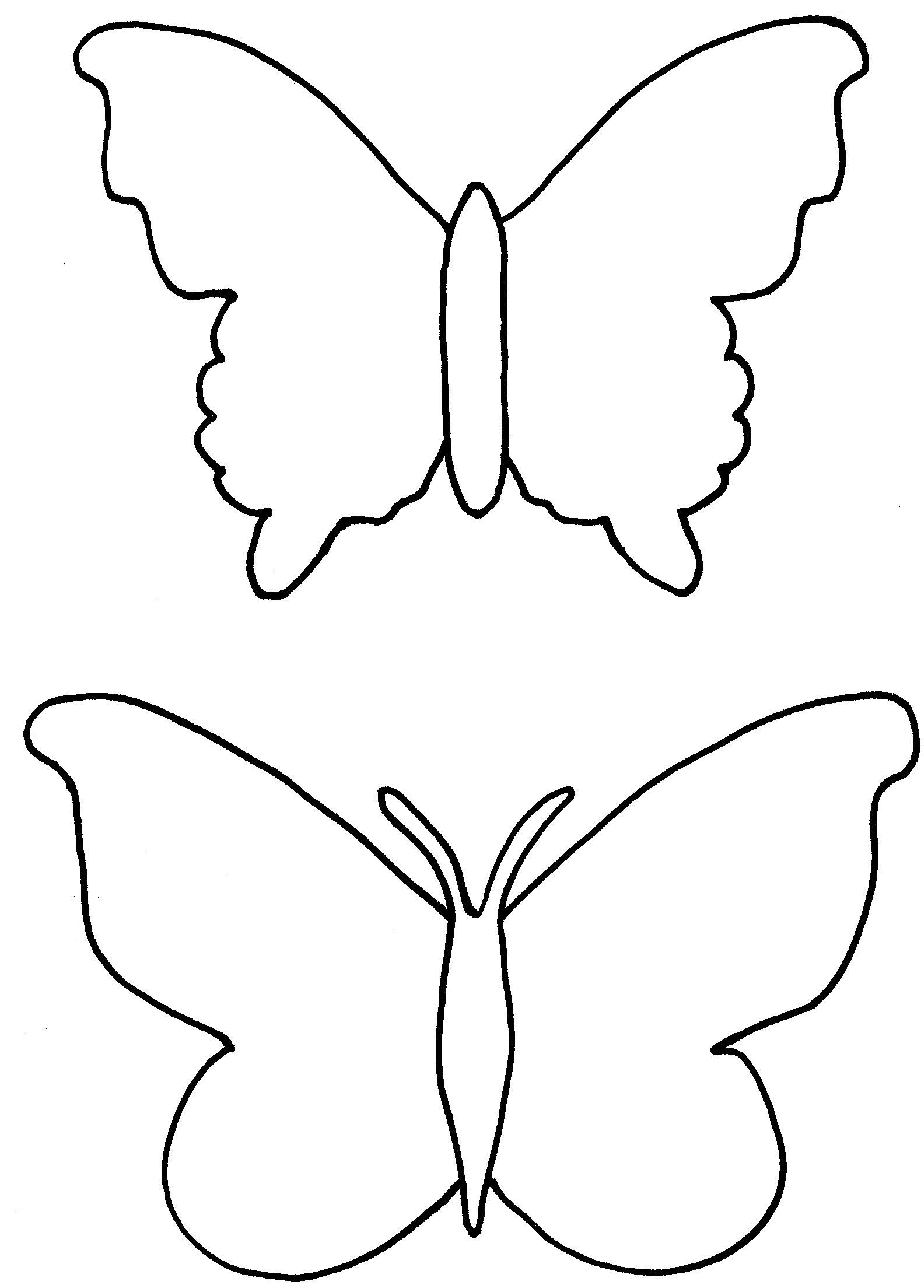 Images For Butterfly Cut Out Stencil