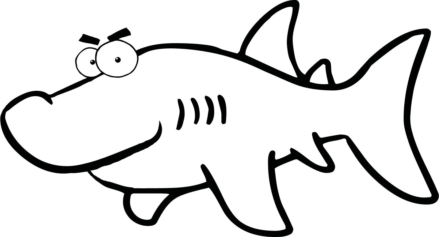 Free Black And White Shark Pictures Download Free Clip Art Free Clip Art On Clipart Library
