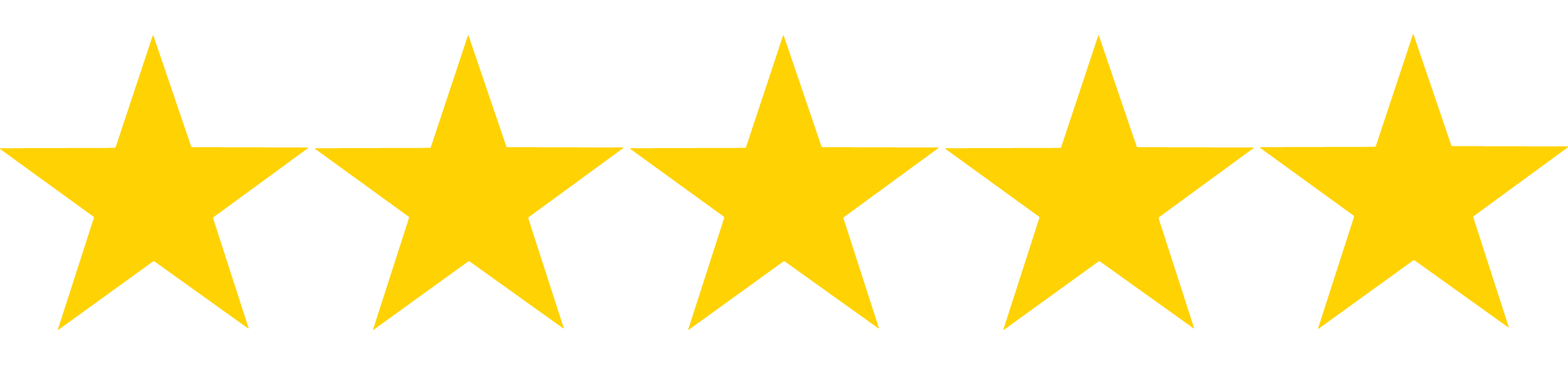 5 star review png - Clip Art Library (3000 x 700 Pixel)