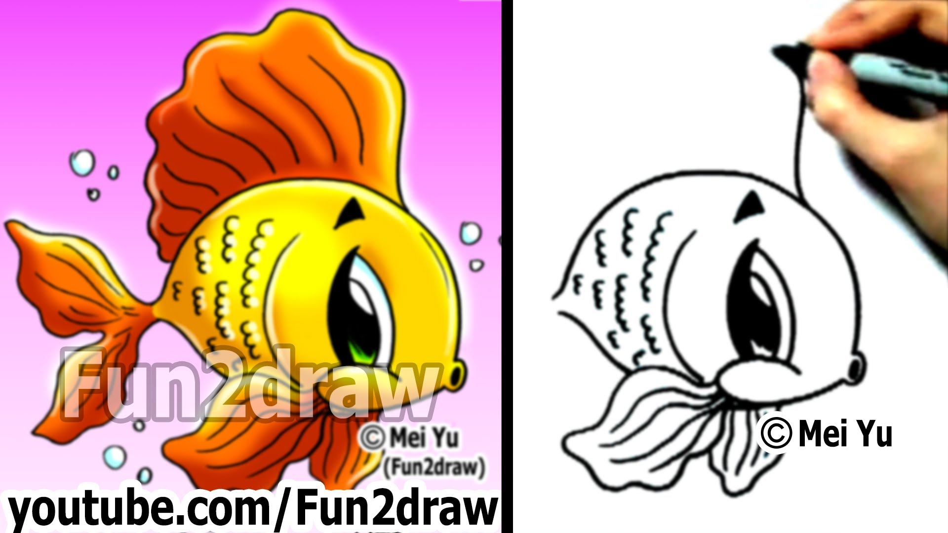 Free How To Draw A Cute Fish Download Free Clip Art Free