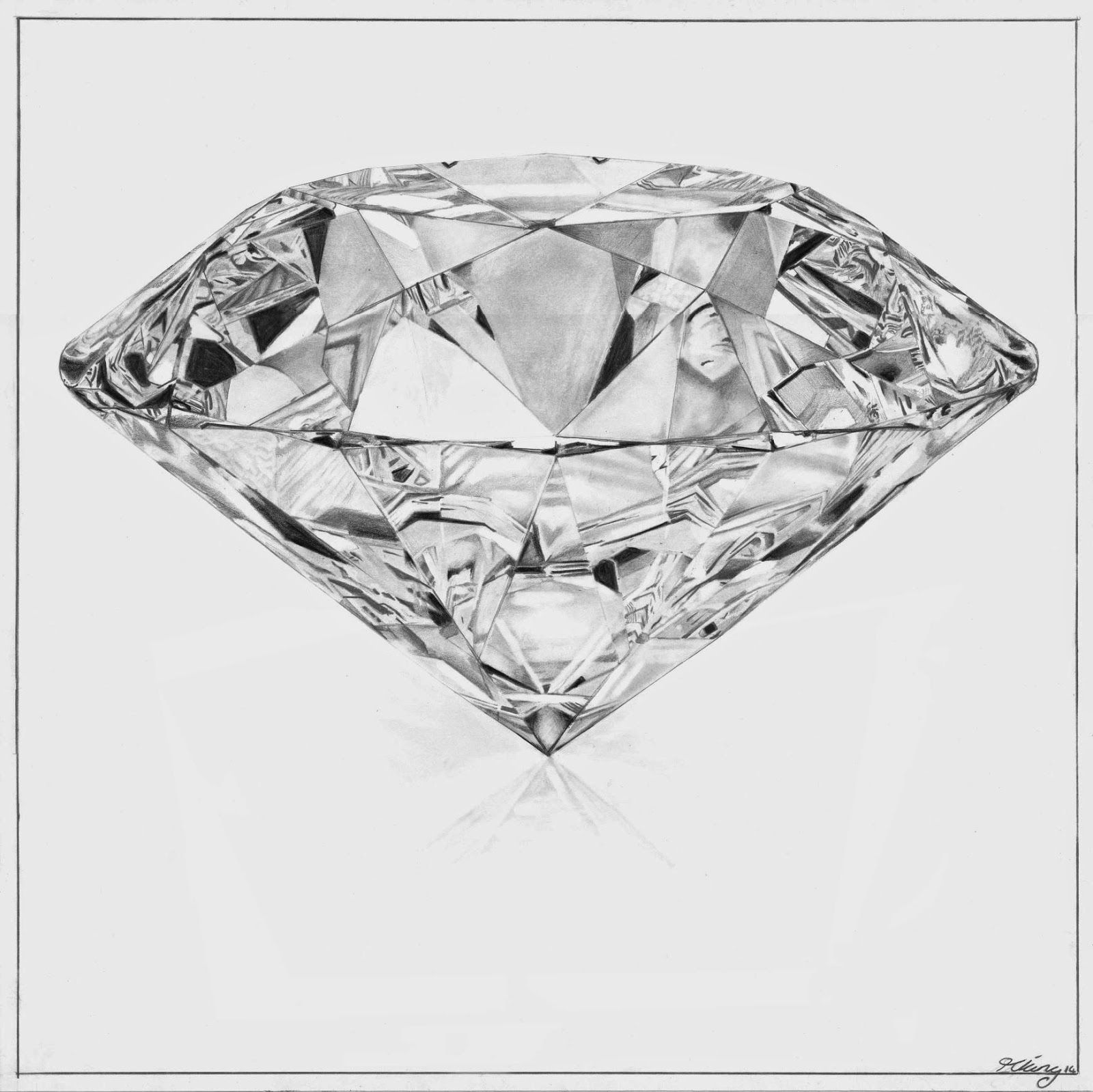 Free How To Draw A Diamond Download Free Clip Art Free