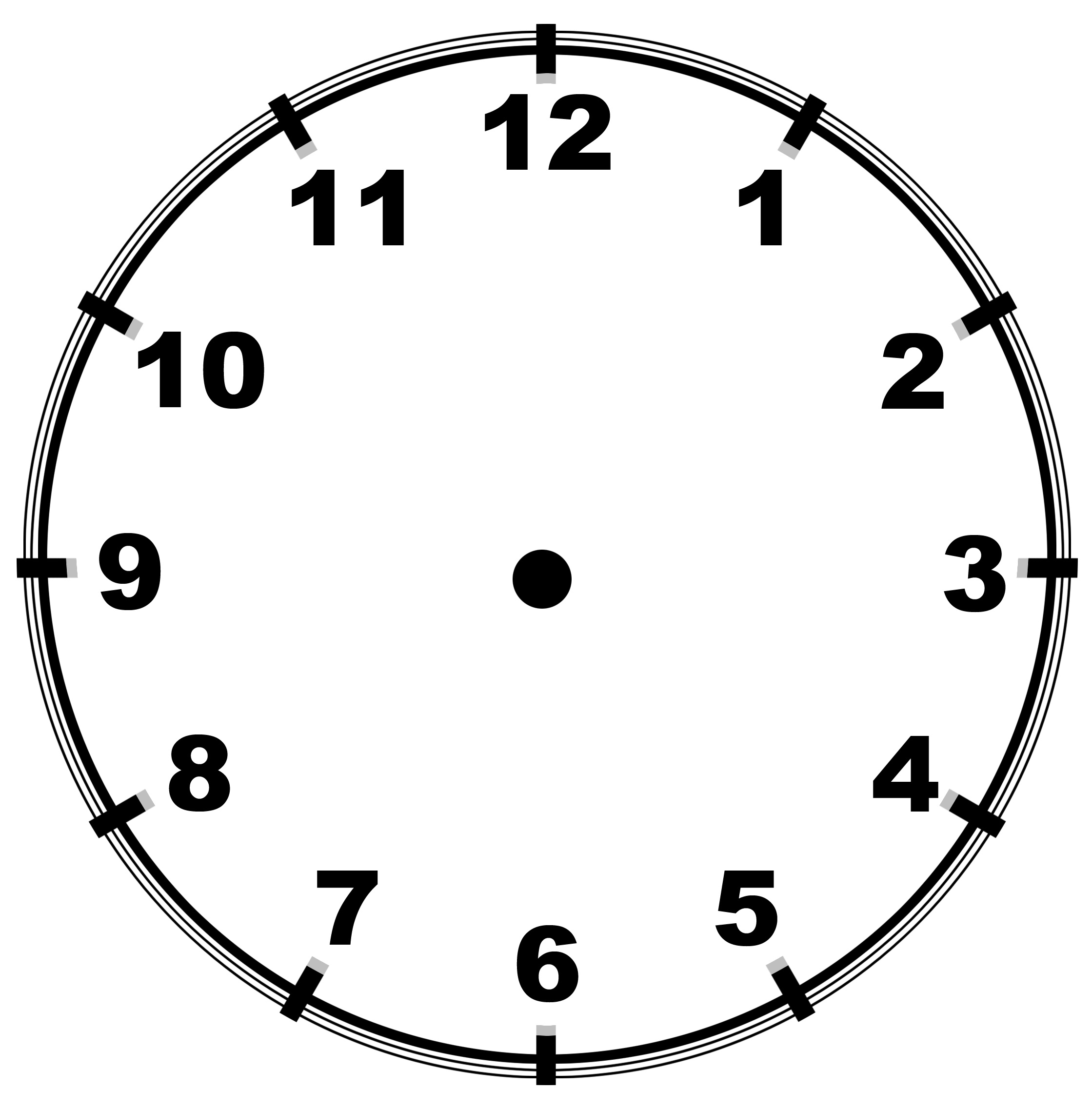 Black Clock Worksheet