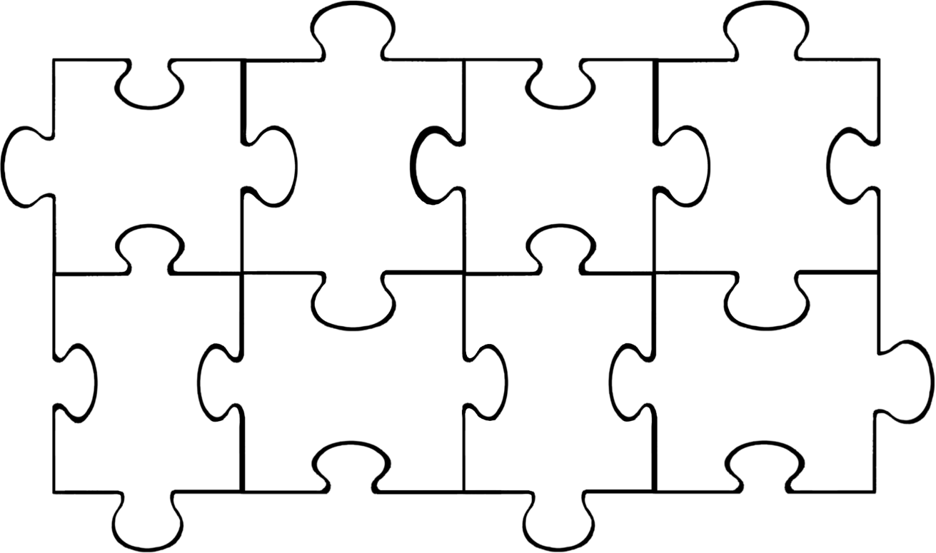 Free Puzzle Pieces Template Download Free Clip Art Free Clip Art On Clipart Library