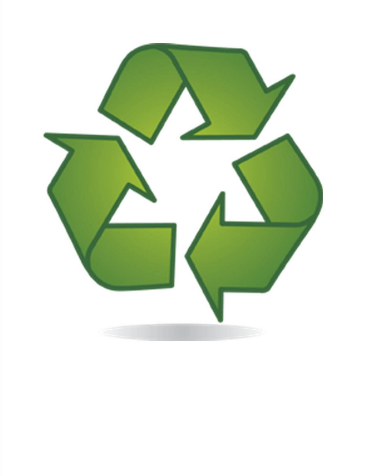 Recycling Symbol Printable Worksheet