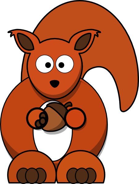 Squirrel Running Clipart | Clipart library - Free Clipart Images