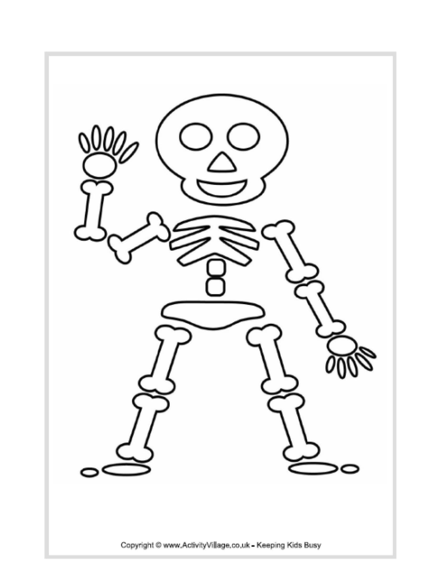Free Kids Skeleton Drawing Download Free Clip Art Free