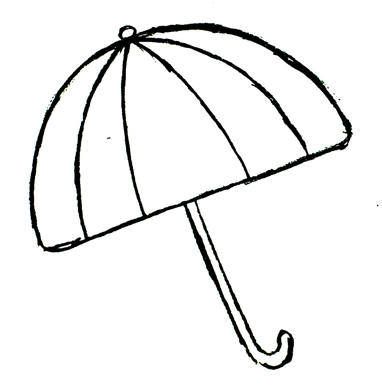 Free Printable Umbrella Template Download Free Clip Art