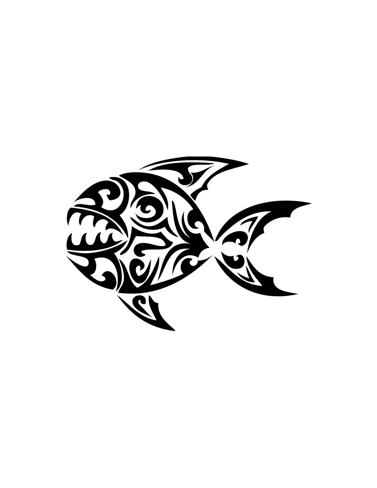 Piranha Tattoo Designs