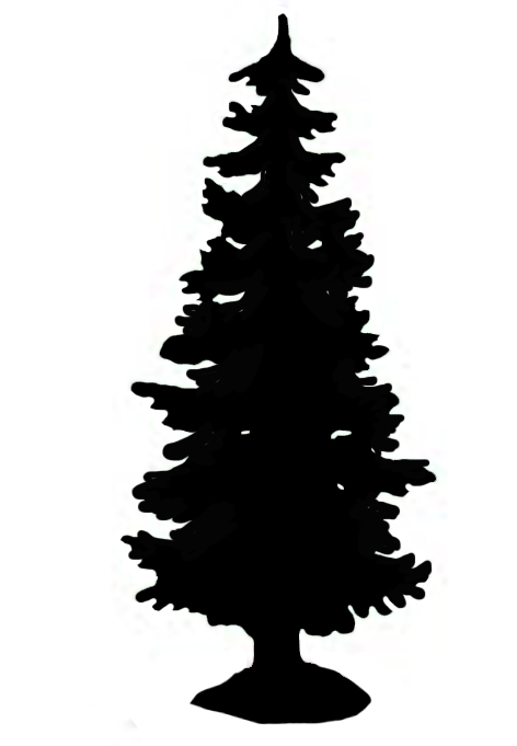 Free Christmas Tree Silhouette Download Free Clip Art