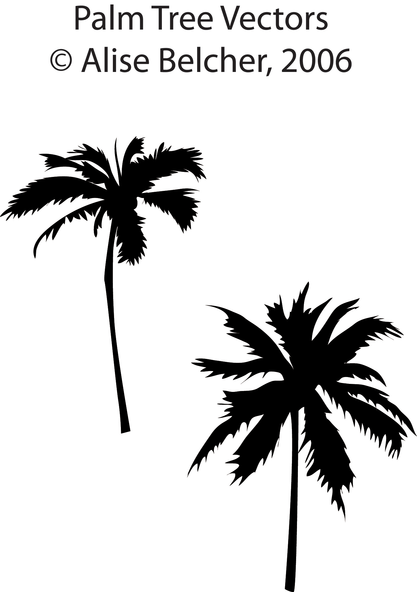 Free Palm Trees Vector Download Free Clip Art Free Clip