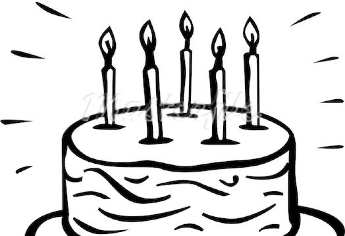 Free Birthday Cake Drawing Download Free Clip Art Free Clip Art On