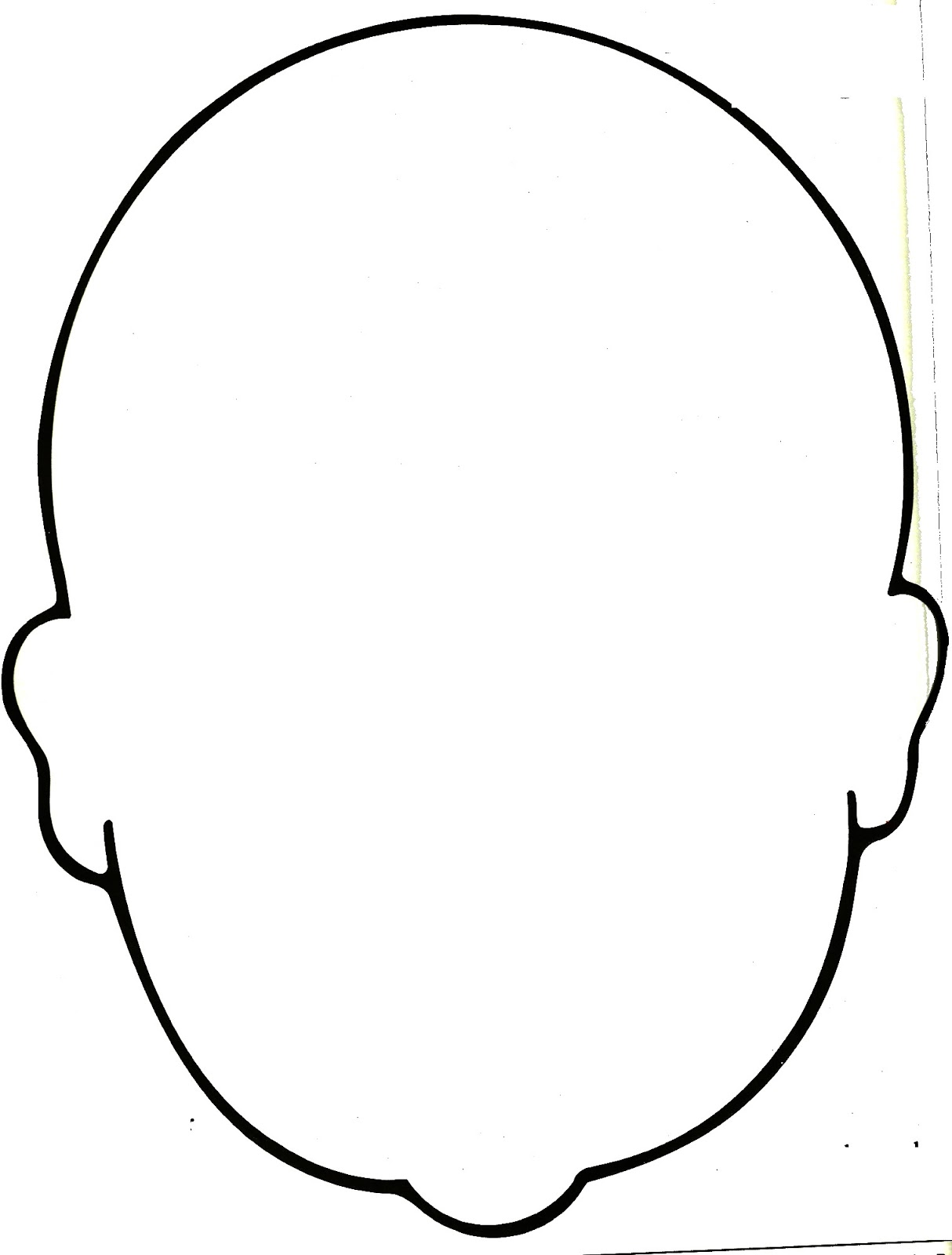 Free Blank Face Outline Download Free Clip Art Free Clip