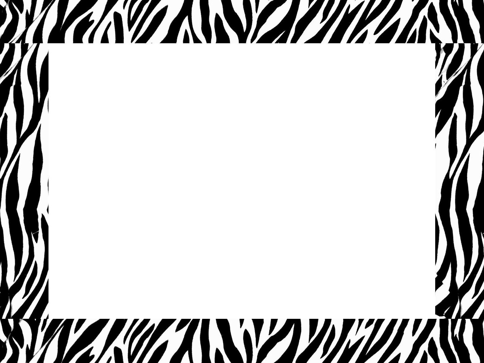 Free Free Zebra Print Border Download Free Clip Art Free
