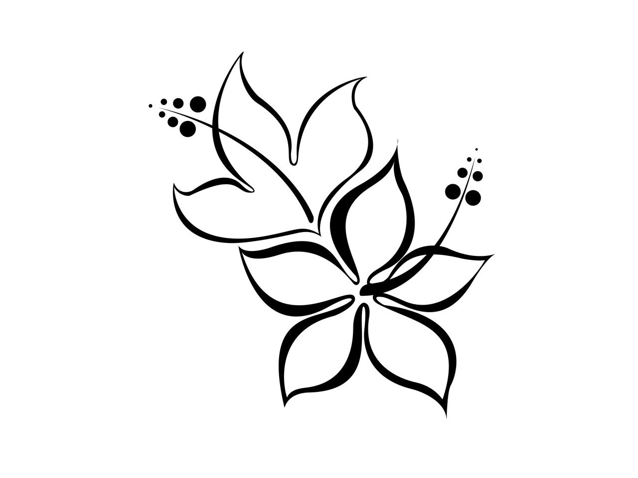 Free Simple Flower Border Designs To Draw Download Free