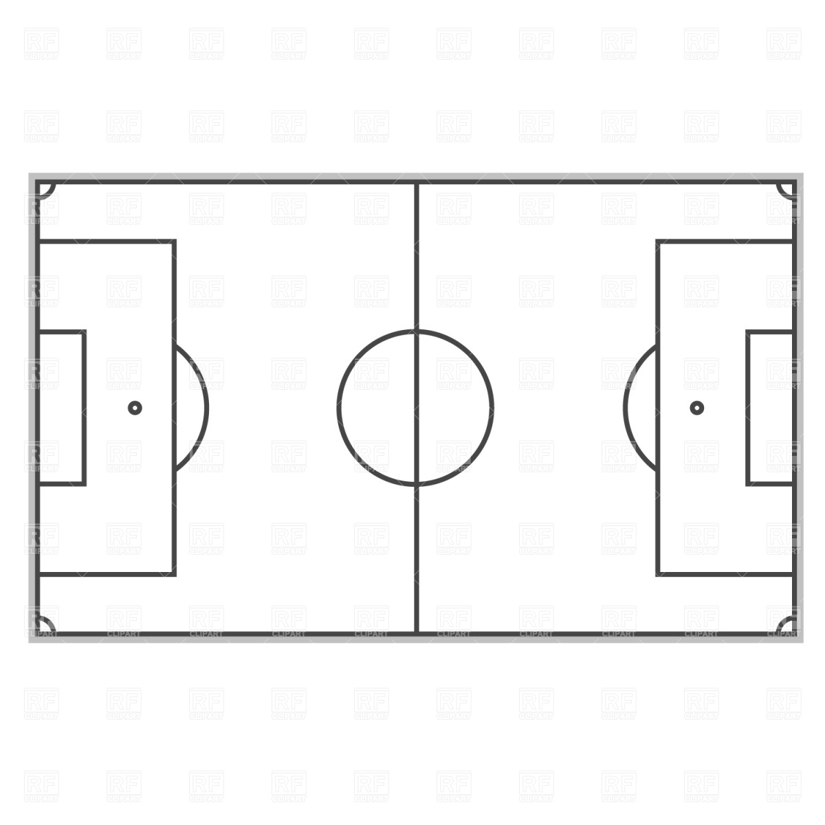 Free Soccer Field Layout Download Free Clip Art Free