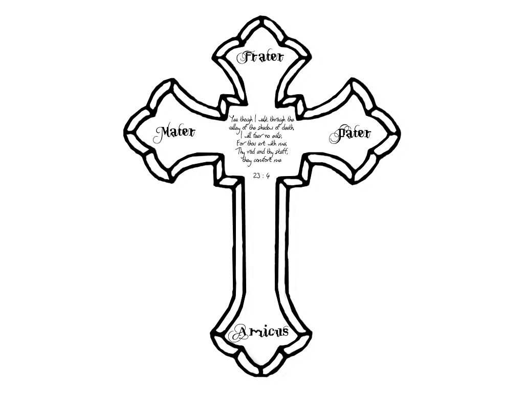 Free Cross Outline Download Free Clip Art Free Clip Art On Clipart Library