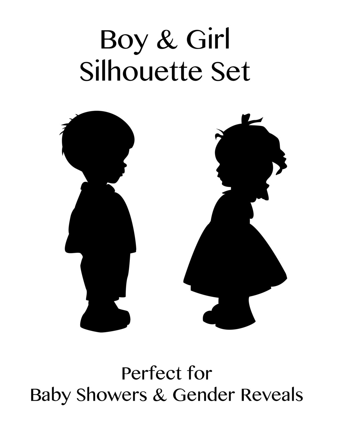 Free Little Girl Silhouette Download Free Clip Art Free
