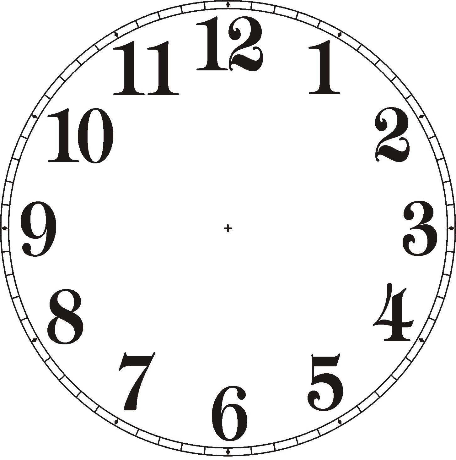 Free Clock Without Hands Download Free Clip Art Free