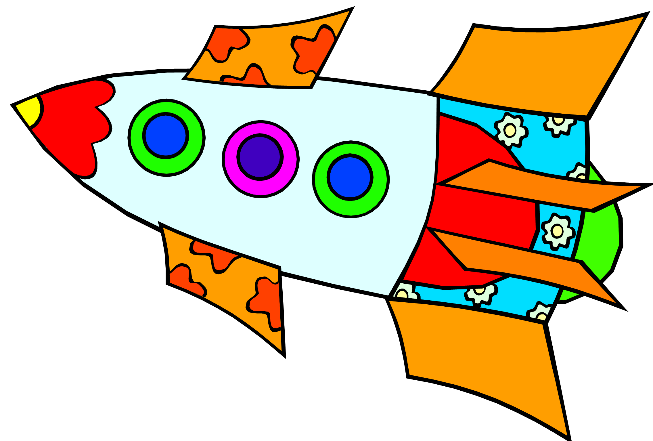 Free Rocket Pictures For Kids Download Free Clip Art