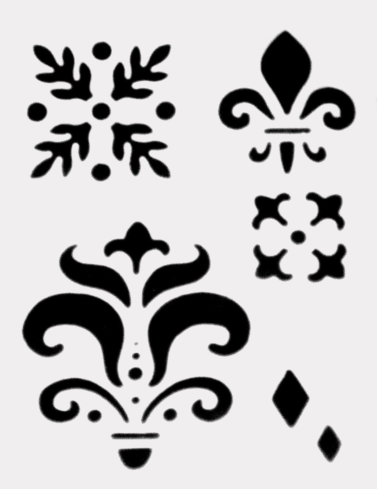Free Saints Fleur De Lis Stencil Download Free Clip Art