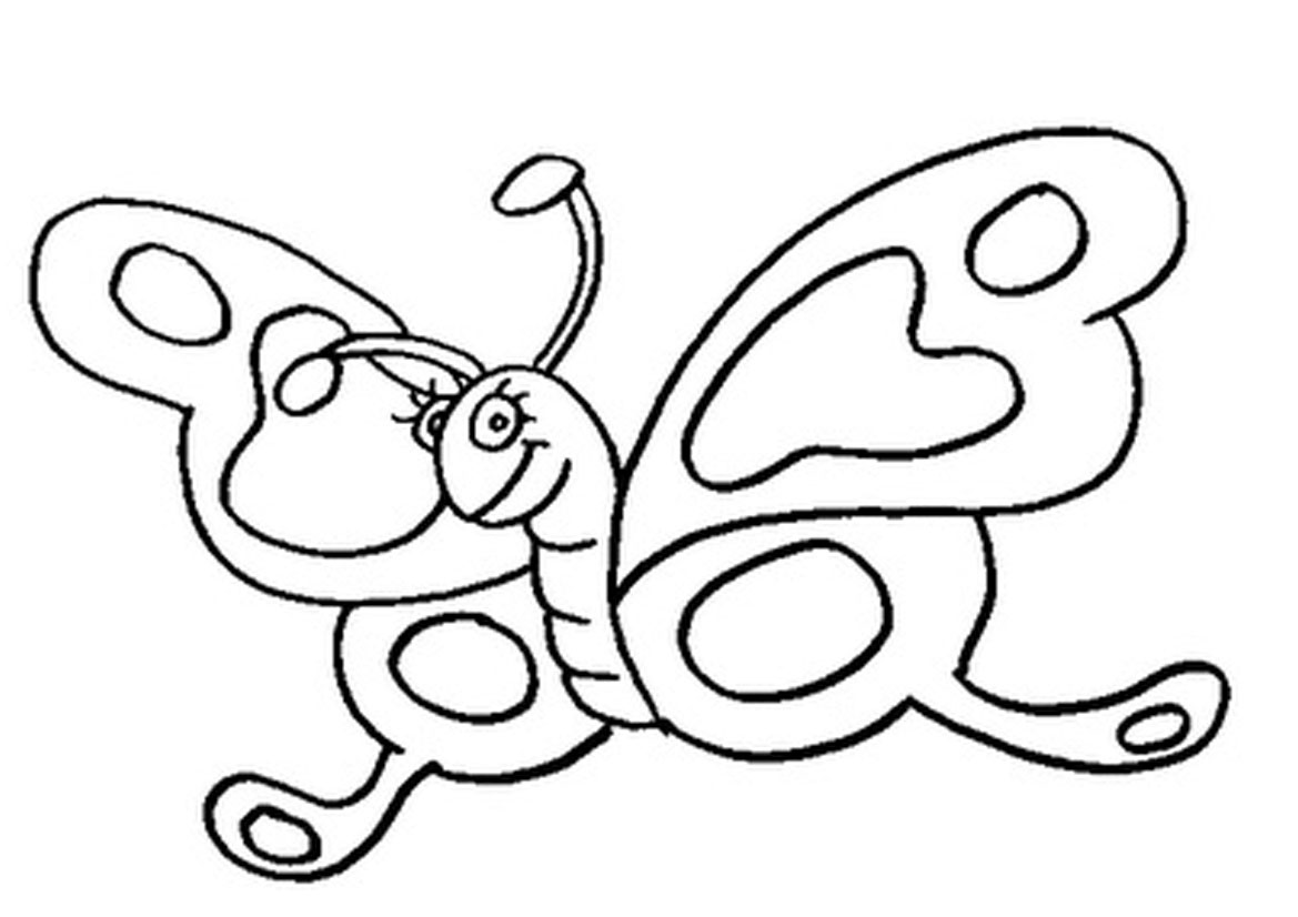 Printable Butterflies Coloring Pages Free Printable Butterfly