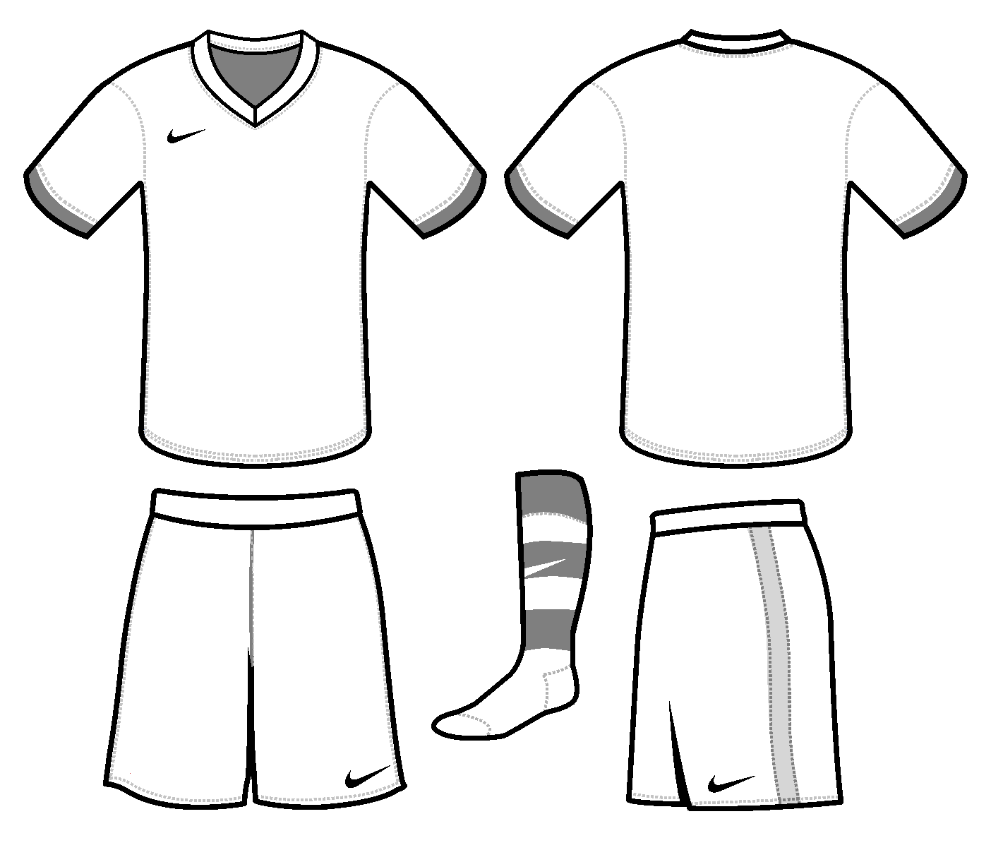 Free Blank Soccer Jersey Template Download Free Clip Art Free Clip Art On Clipart Library