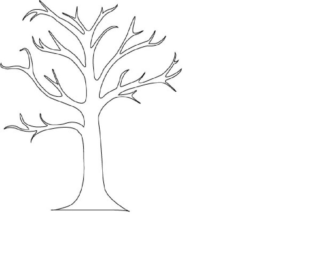 Free Tree Outline Printable Download Free Clip Art Free