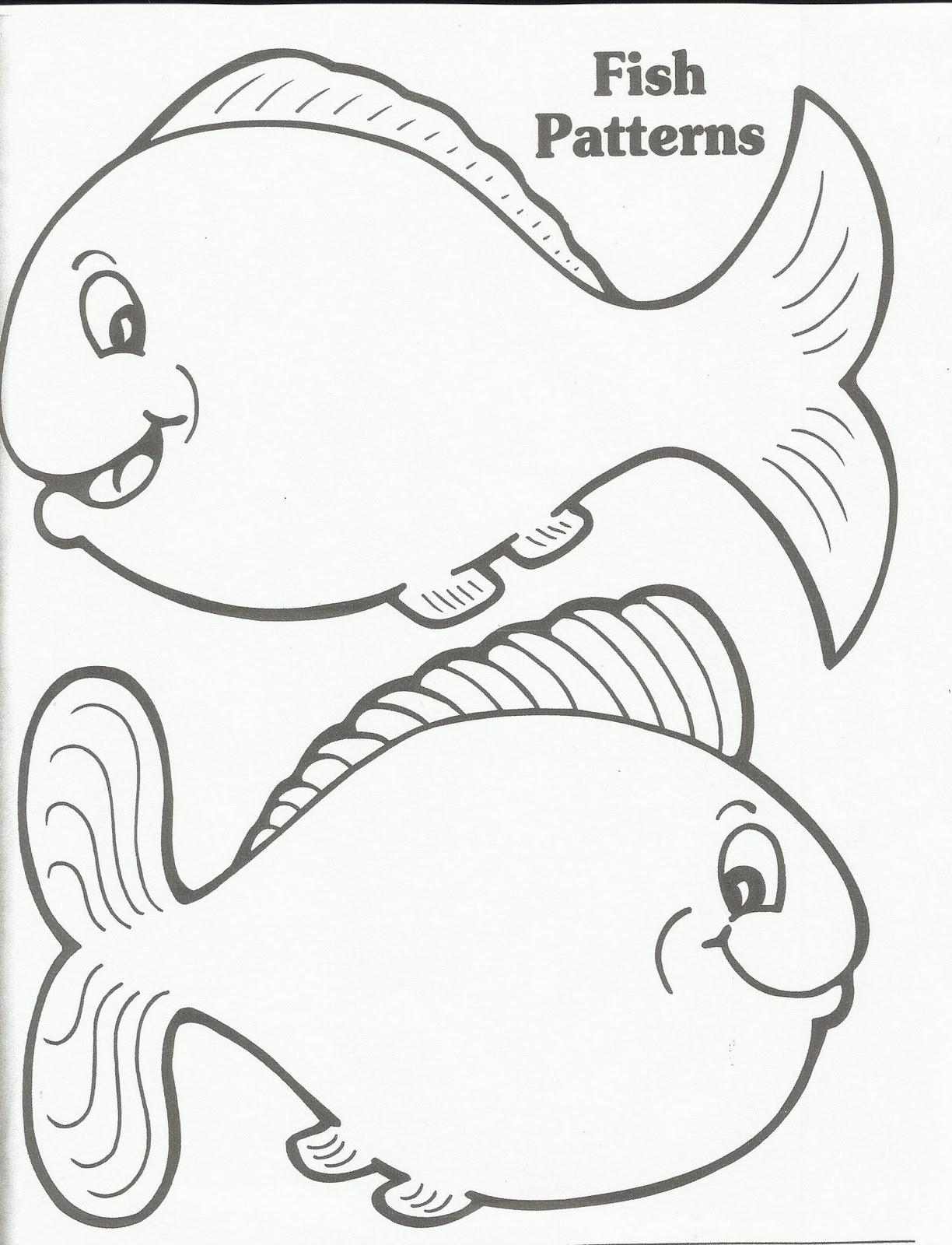 Free Fish Templates Download Free Clip Art Free Clip Art