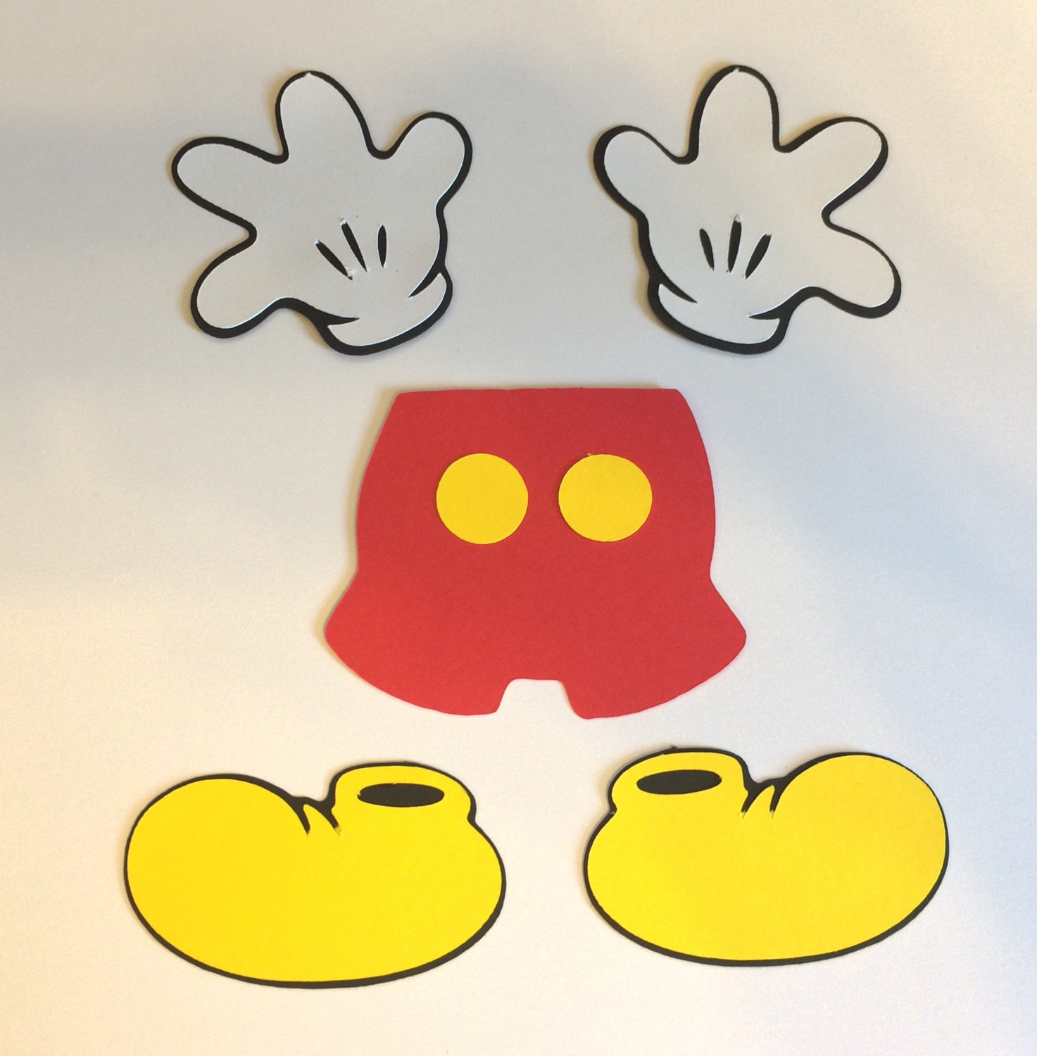 Free Mickey Mouse Cut Out Download Free Clip Art Free Clip Art On Clipart Library