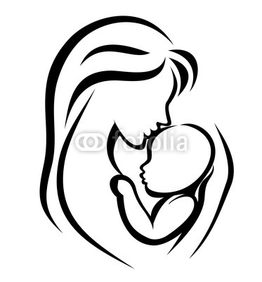 Free Mother And Child Drawing Download Free Clip Art Free Clip Art On Clipart Library
