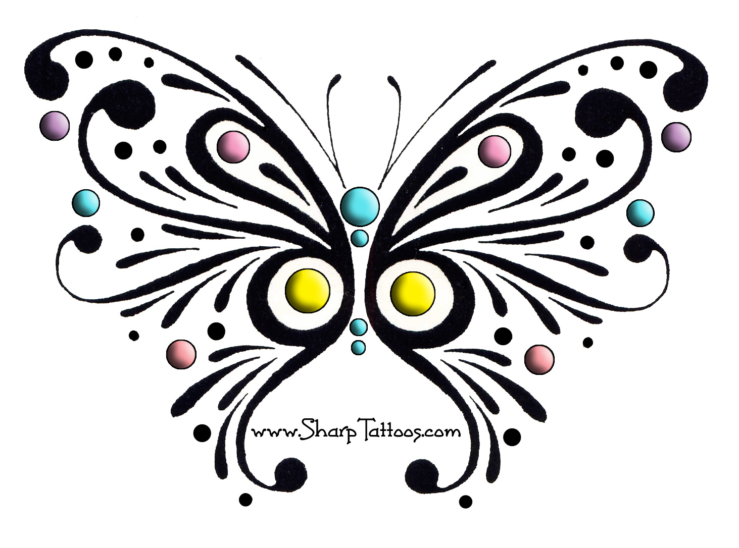 Tribal Butterfly By Taesa On Clipart Library
