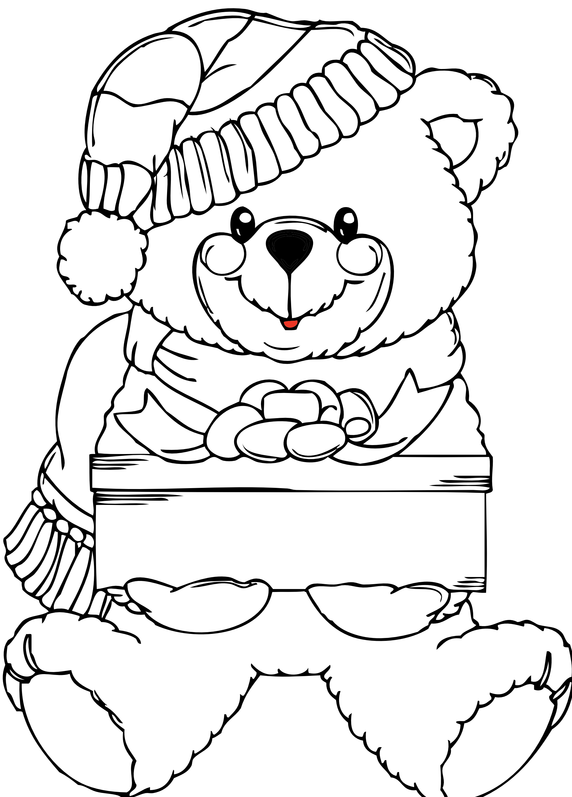 Free Line Drawing Teddy Bear Download Free Clip Art Free Clip Art On Clipart Library