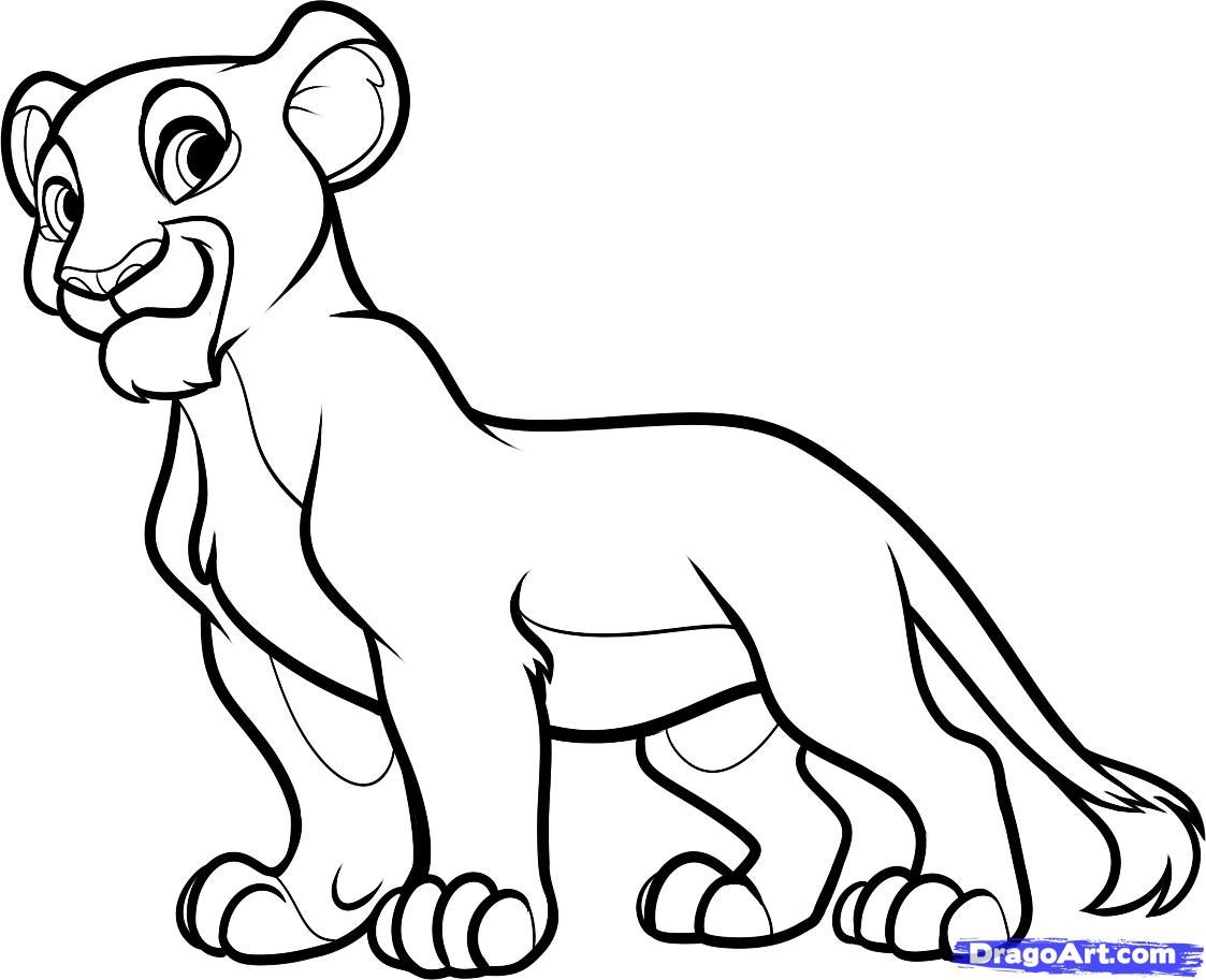 Free Lion King Drawings Download Free Clip Art Free Clip