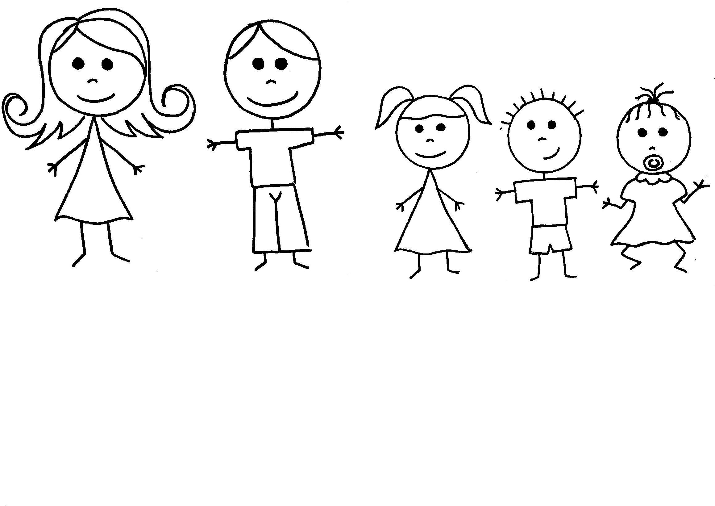 Free Stick Figure Family Download Free Clip Art Free