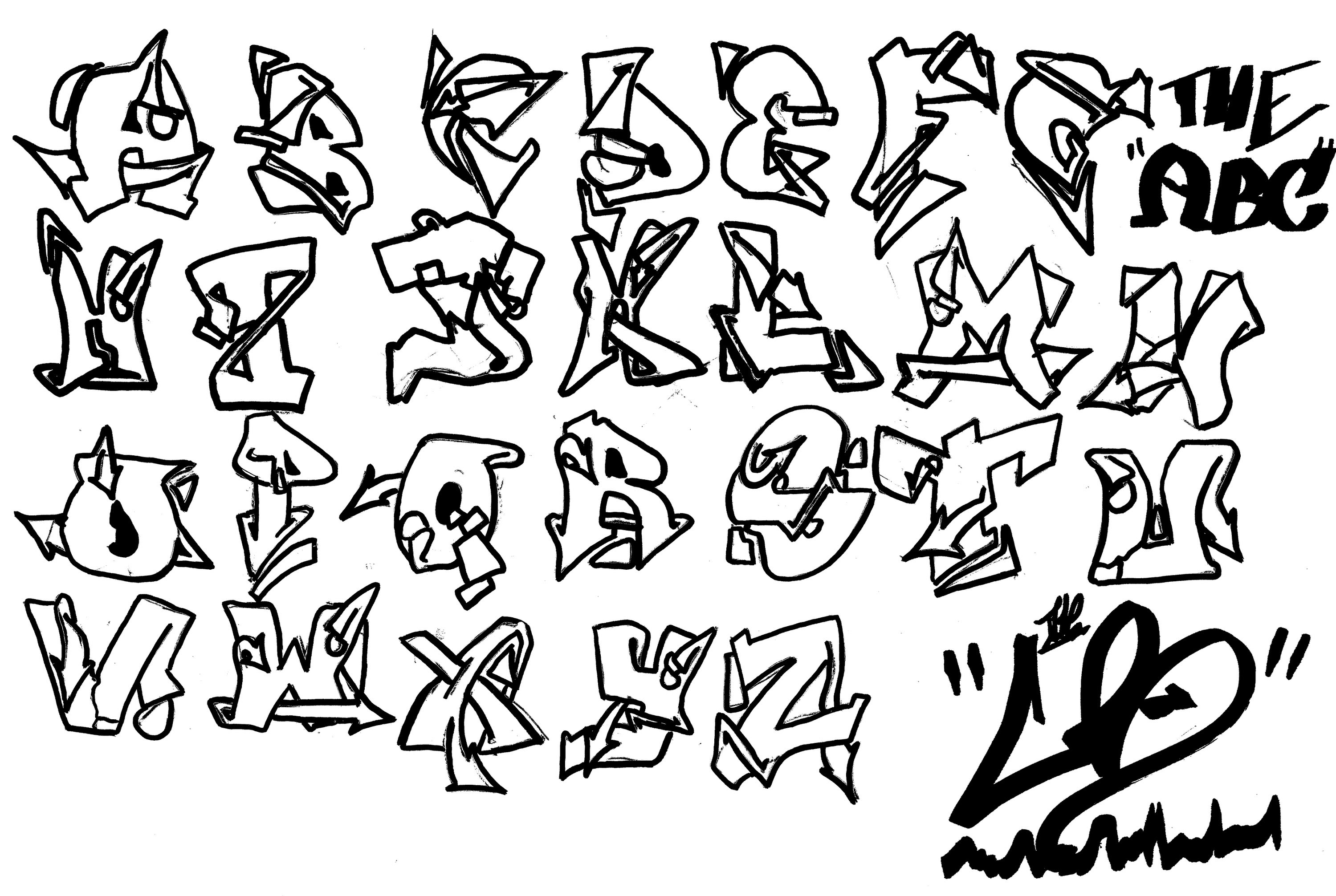 Photos Alphabet Graffiti Tag Page 9