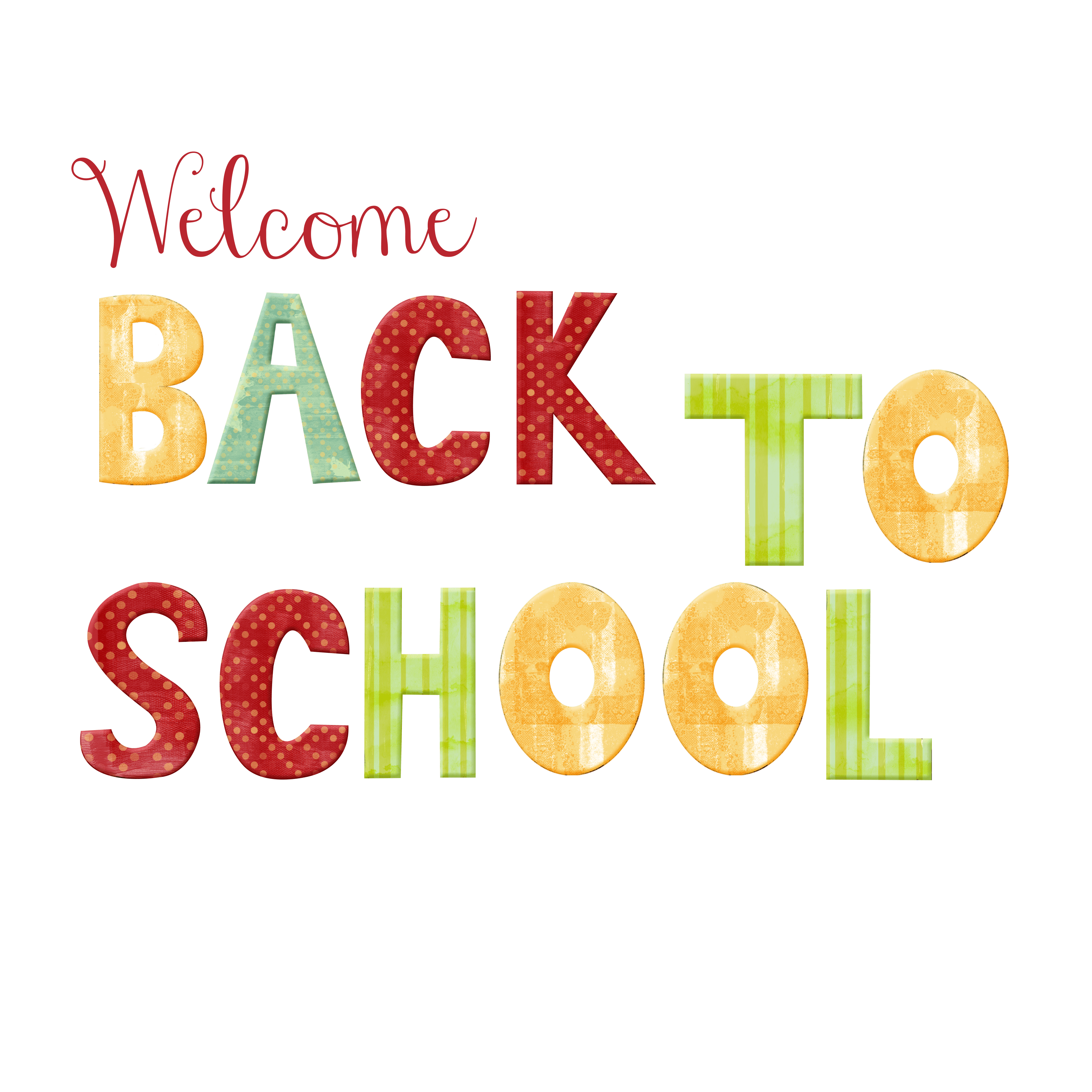 Free Welcome Back To School Download Free Clip Art Free