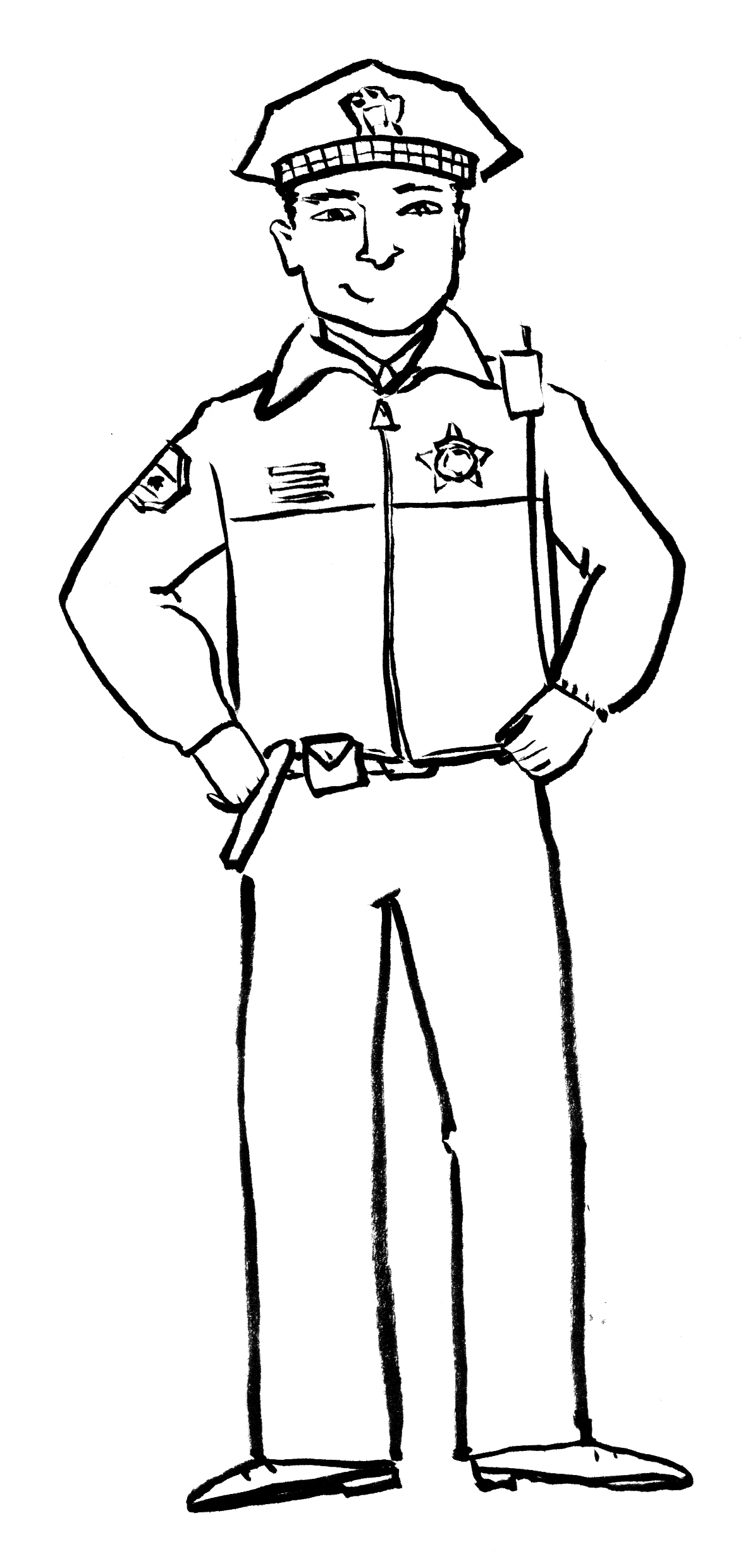 Free How To Draw A Policeman Download Free Clip Art Free