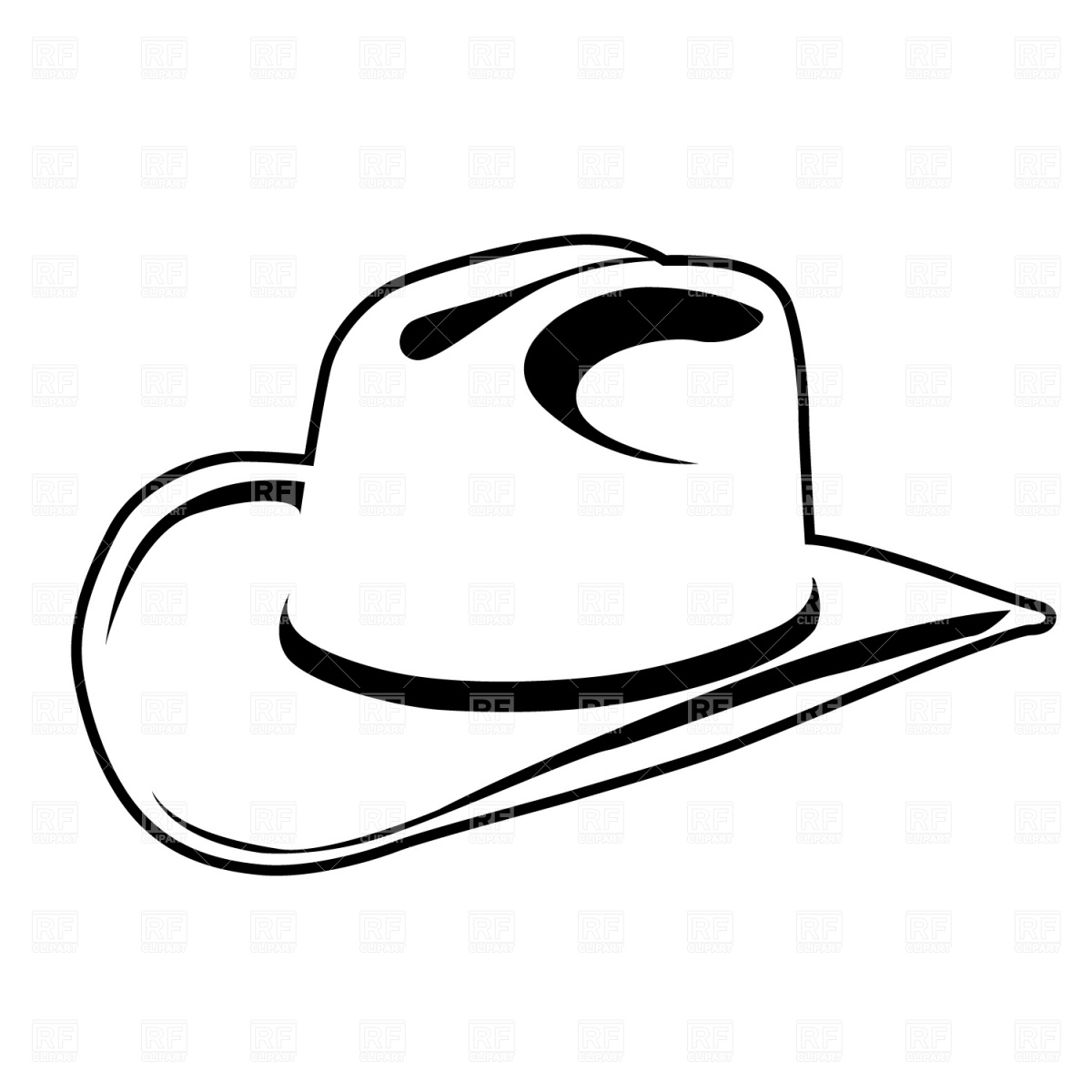 Free Cowboy Hat Drawing Download Free Clip Art Free Clip