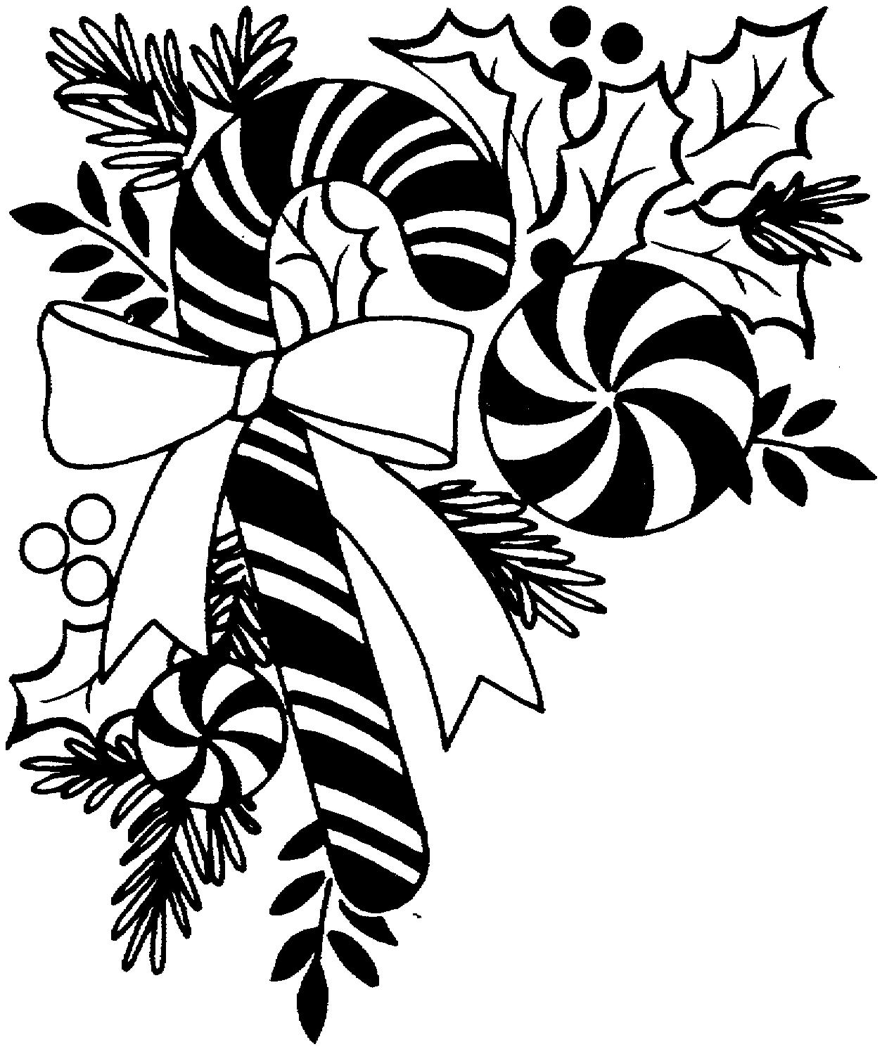 Free Black And White Christmas Borders Download Free Clip
