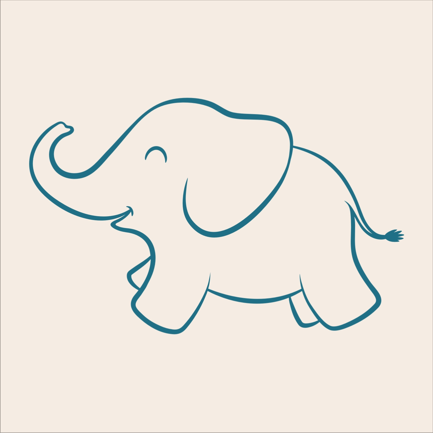 Free Baby Elephant Stencil Download Free Clip Art Free