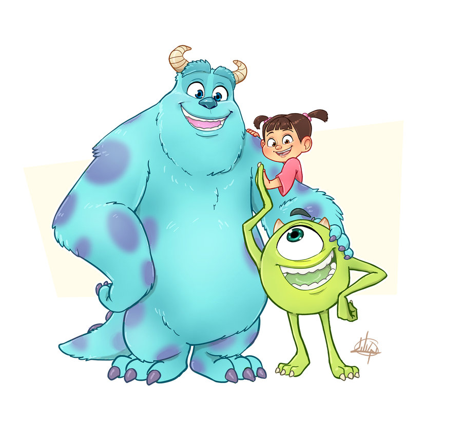 Monsters Inc By LuigiL On Clipart Library