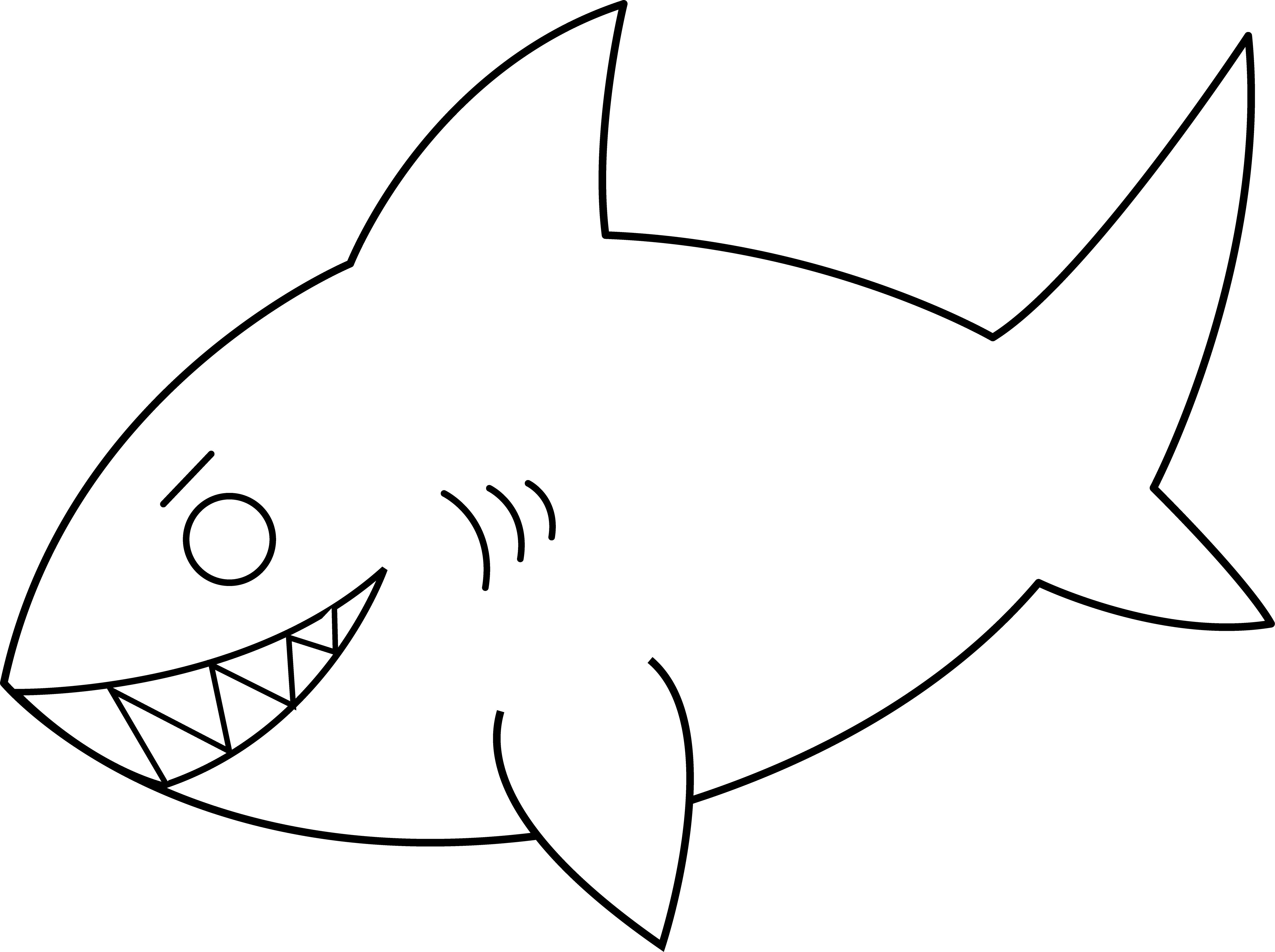 Free Fish Drawing Outline Download Free Clip Art Free