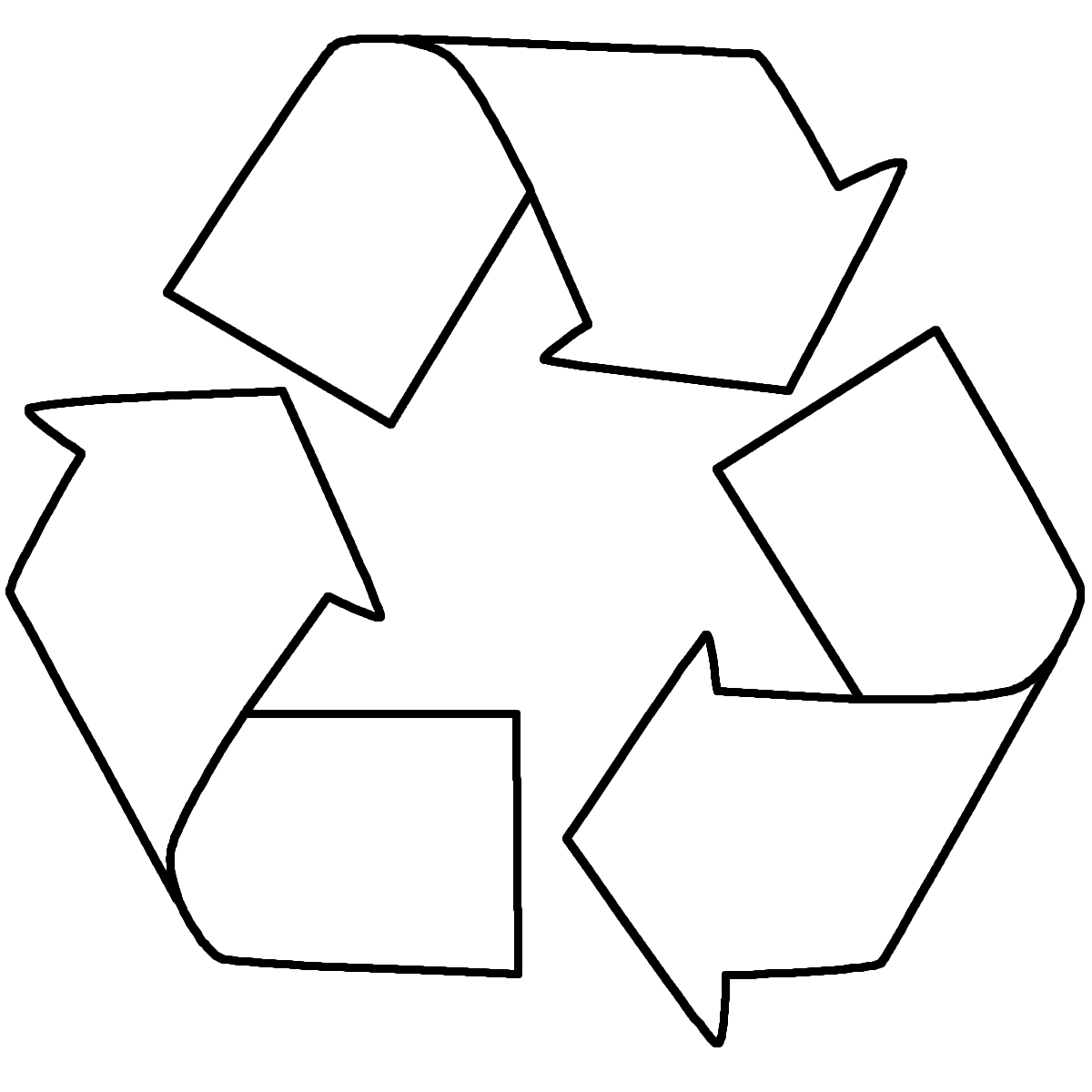 Reduce Reuse Recycle Coloring Page Gallery Clip Art Library