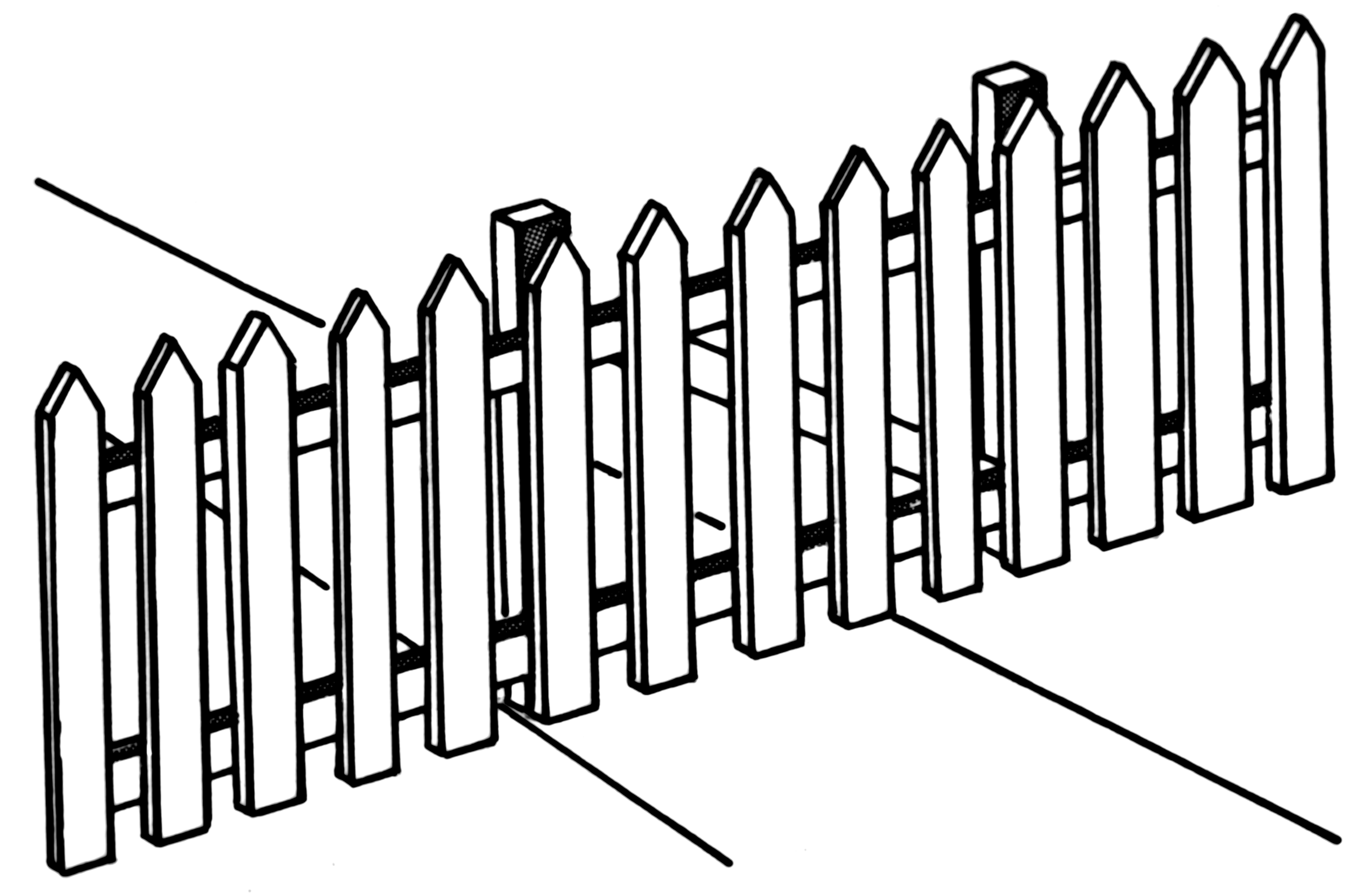 Free Picket Fence Download Free Clip Art Free Clip Art