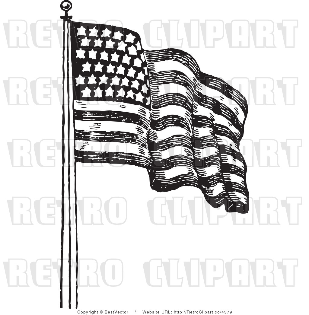 Free Waving American Flag Drawing Download Free Clip Art Free Clip Art On Clipart Library