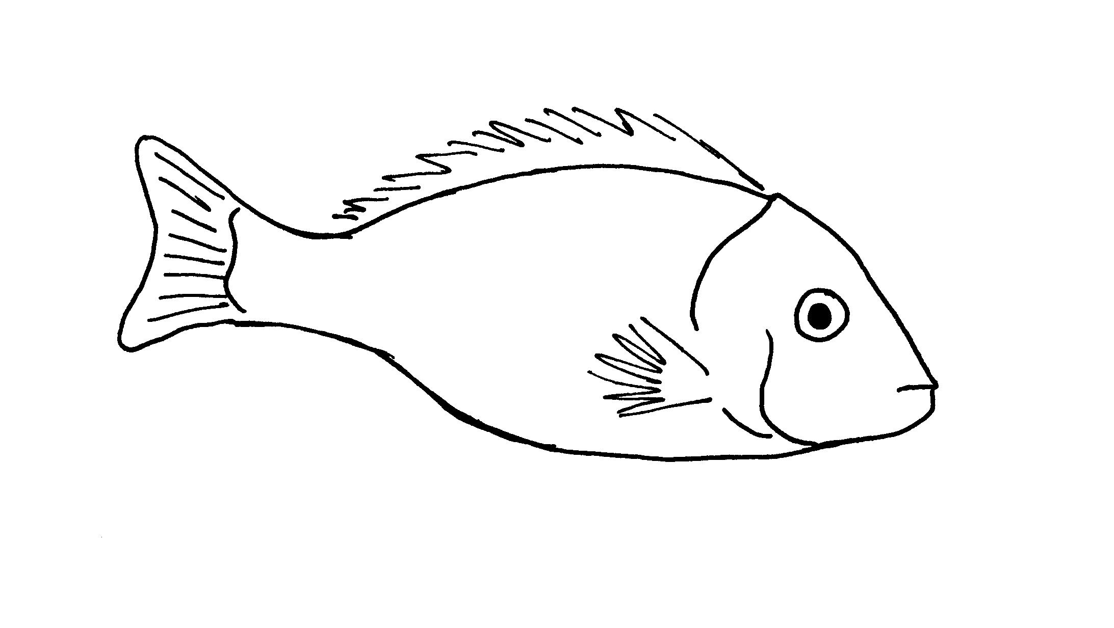 Easy Fish Clipart