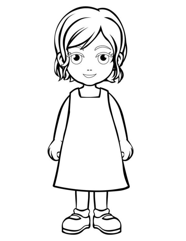 person coloring page # 3