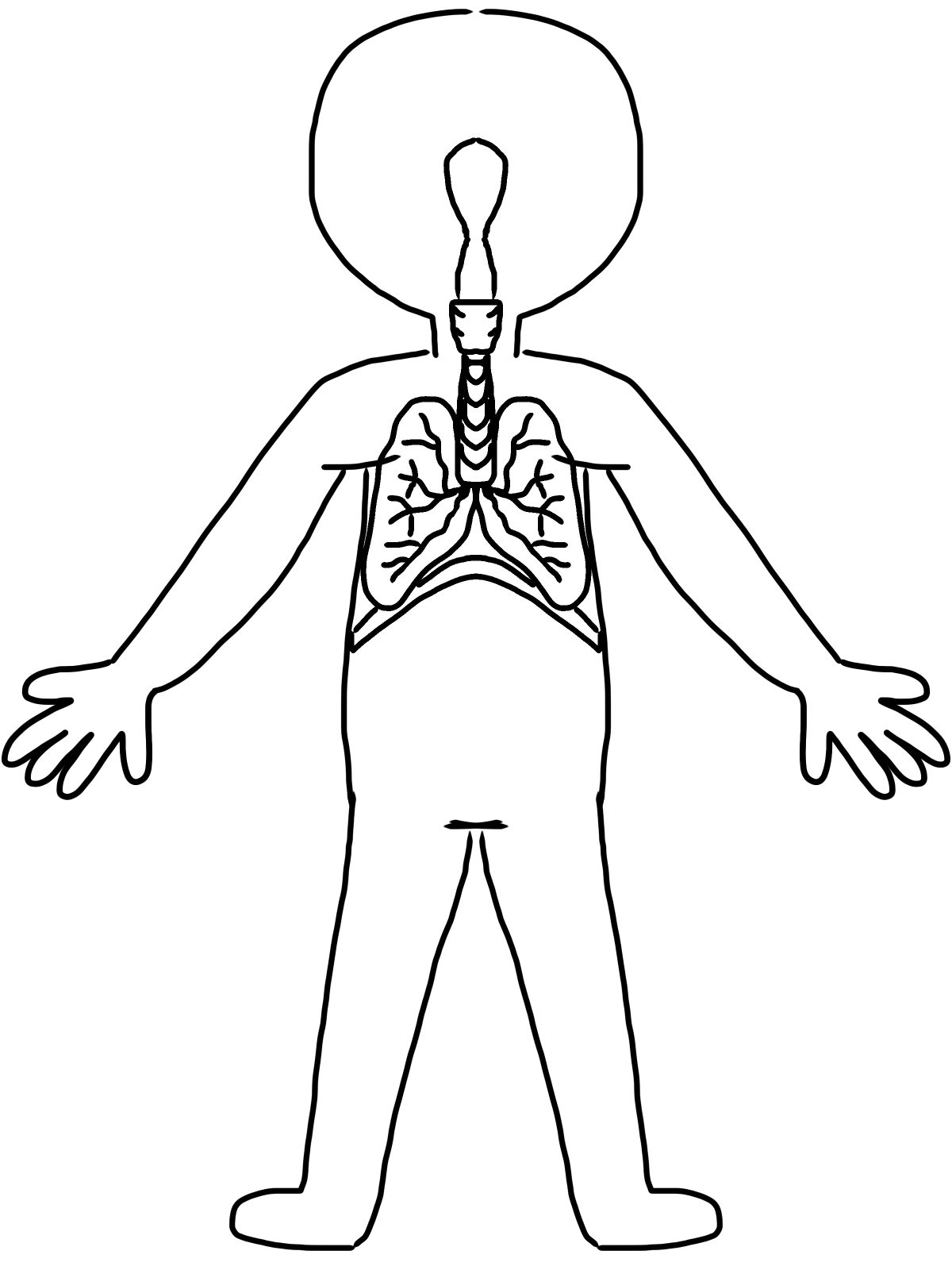 Images For Kid Body Clipart
