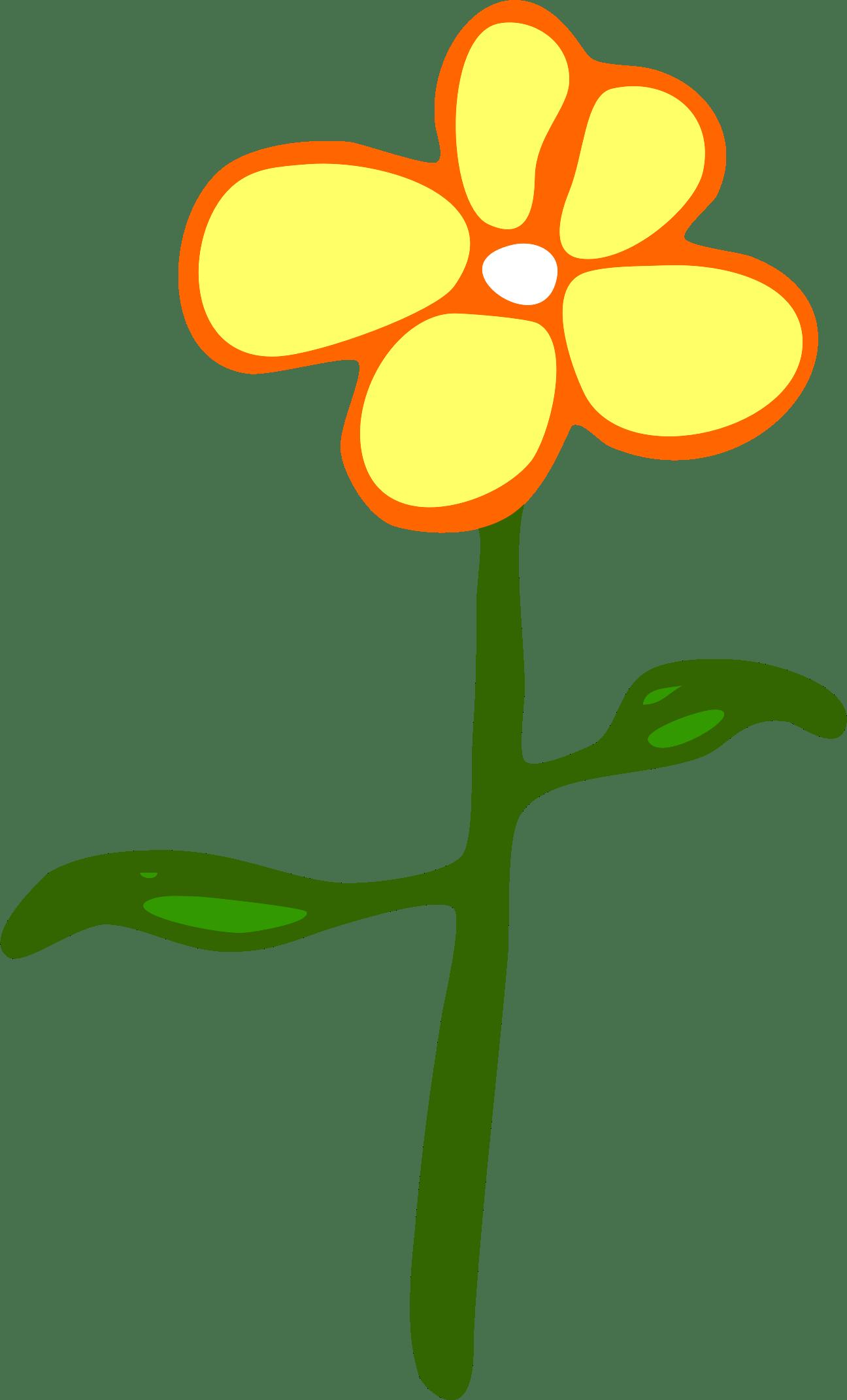 Flower Cartoon Yellow Clip art - cartoon flowers png ... (1296 x 2143 Pixel)